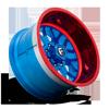 8 LUG FF19 LOLLIPOP BLUE & RED