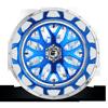 6 LUG FF19 CANDY BLUE W/POLISHED LIP