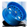 8 LUG FF25 TRANSLUCENT CANDY BLUE & MILLED