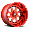 FF25 Candy Red 6 lug