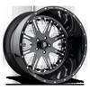 FF25 Gloss Black & Milled 5 lug