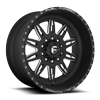FF26D - Super Single Front Matte Black & Milled 10 lug
