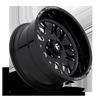 6 LUG FF37 GLOSS BLACK & MILLED