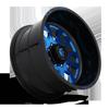 8 LUG FF37 CANDY BLUE W/ BLACK LIP