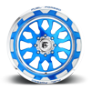 8 LUG FF37 CANDY BLUE W/POLISHED LIP