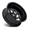 10 LUG FF39D - 10 LUG REAR GLOSS BLACK & MILLED