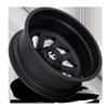10 LUG FF39D - 10 LUG REAR MATTE BLACK W/ CHROME LOGO