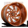 FF40 - 5 Lug Brushed Candy Copper 5 lug