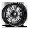 FF41 - 8 Lug Gloss Black & Milled 8 lug