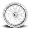 8 LUG FF45D - SUPER SINGLE FRONT 24X14 | POLISHED