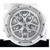 5 LUG FF45 - 5 LUG BRUSHED FACE W/ ANTHRACITE WINDOWS / POLISHED LIP