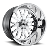 FF45D - Super Single Front Polished 8 lug
