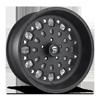 FF48 Matt Black 5 lug