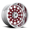 8 LUG FF48 POLISHED W/ RUBY RED