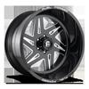 FF56 Gloss Black & Milled 6 lug
