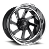 FFC39 | Concave Polished w/Black Face 8 lug