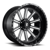 6 LUG FFC60 | CONCAVE GLOSS BLACK & MILLED
