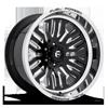 FFC81 | Concave Gloss Black & Milled 6 lug