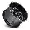 8 LUG FF40 - 8 LUG GLOSS BLACK & MILLED
