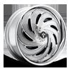S738-Flow Chrome 8 lug