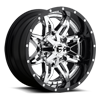 Lethal - D266 Chrome 6 lug