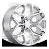Style 59 Chrome 6 lug