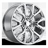 Style 52 Chrome 6 lug