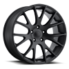 Style 70 Truck/SUV Satin Black 5 lug