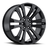 Style 72 Gloss Black 6 lug