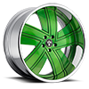 Fader-C14 Green 5 lug
