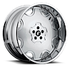 5 LUG FIORE SATIN CENTER, CHROME LIP