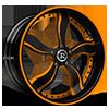Fuego Orange 5 lug