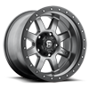 Trophy - D552 Matte Anthracite w/ Black Ring 8 lug