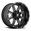 Maverick - D538 Black & Milled 6 lug