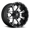 Nutz - D541 Black & Machined 5 lug