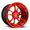 5 LUG GRAND PRIX CANDY RED OVER POLISH