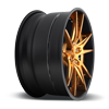 5 LUG GRAND PRIX COPPER W/ MATTE BLACK LIP