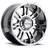 737 Challenger Bright PVD Durable All-Weather Synthetic Chrome 6 lug