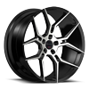 5 LUG HALEB BLACK MACHINED
