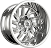 65R Glock Chrome Plated 8 lug