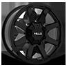 HE909 Gloss Black 8 lug