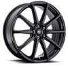 215 Banshee Satin Black 5 lug