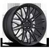 JDR Matte Black 5 lug