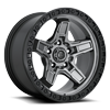 Kicker - D698 Anthracite Center w/ Black Lip 5 lug