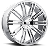 KM677 D2 Chrome 5 lug