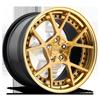 KPS Brushed Monaco Copper 5 lug