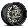 KR1021 Black with Bronze Face 5 lug
