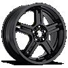 RZ5 Gloss Black 5 lug