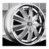 Kraay - S739 Chrome 5 lug