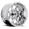 Krank - D516 Chrome Plated 6 lug